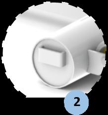 zoom đối trọng có đai gài khóa cho phép bổ sung thêm 1 đối trọng